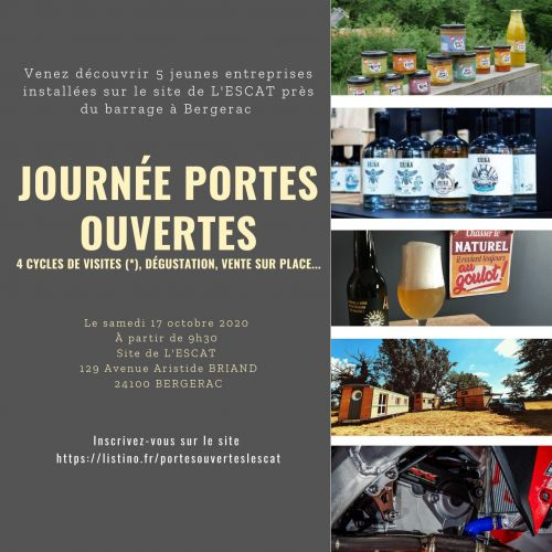 Journées Portes Ouvertes de l'ESCAT à Bergerac