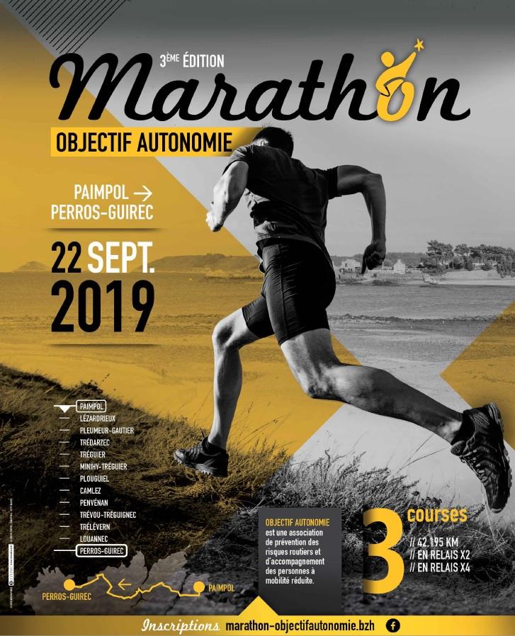 Affiche Marathon Objectif Autonomie 2019